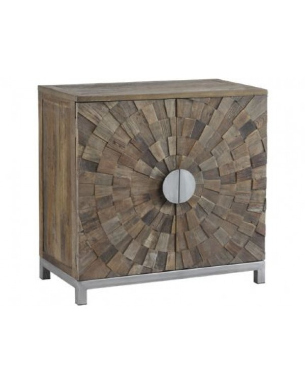 Talquin Recycled Elm And Iron Cabinet